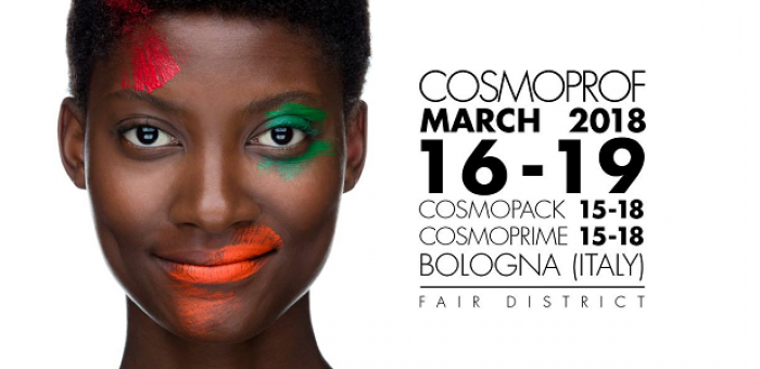 COSMOPROF 2018, from March 15th to 19th BolognaFiere