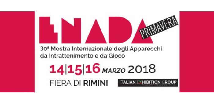 ENADA PRIMAVERA 2018, from 14 to 16 March at Rimini Fiera