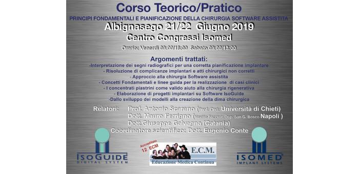 Chirurgia ortodontica computer assistita: il corso terorico e pratico di ISOMED