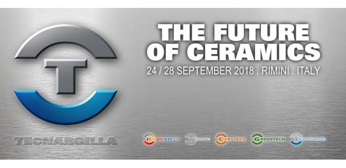 Tecnargilla 2018: возвращается в Римини с 24 по 28 сентября