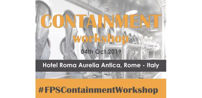 FPS: 3° workshop sul contenimento a Roma